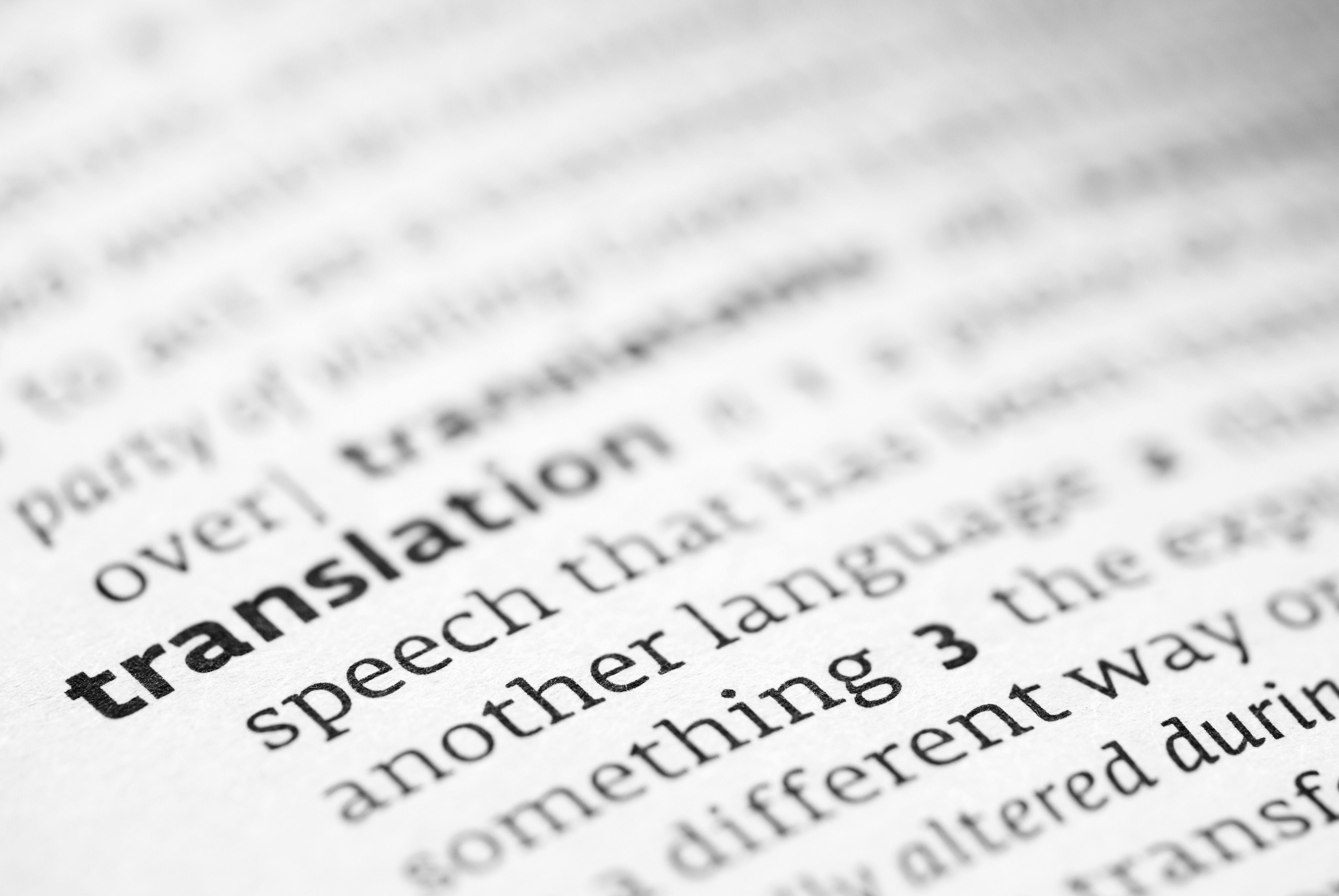 traducteur professionel