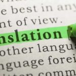 When do I need a translation?