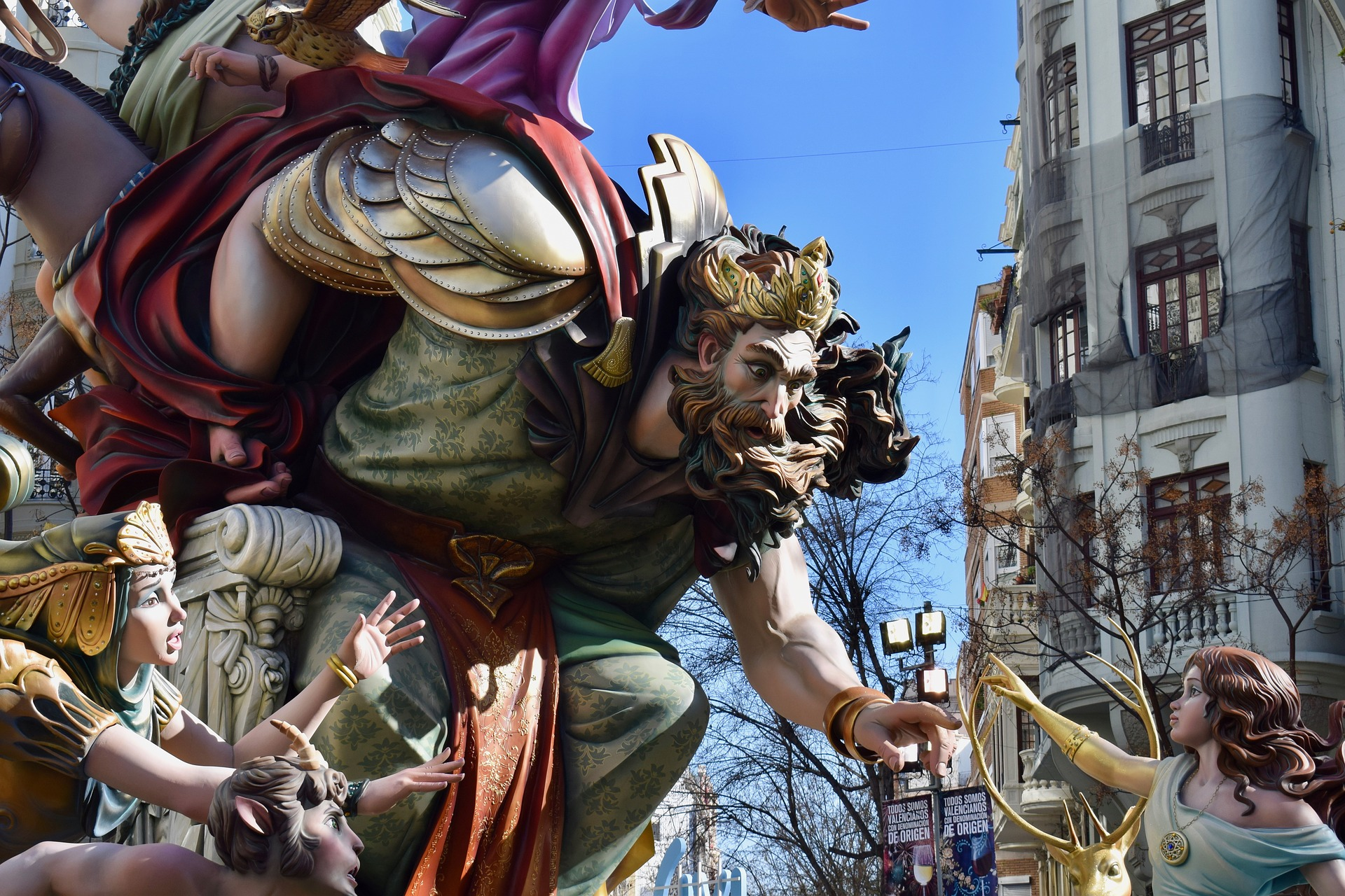 The Valencian Fallas: tradition, satire and art