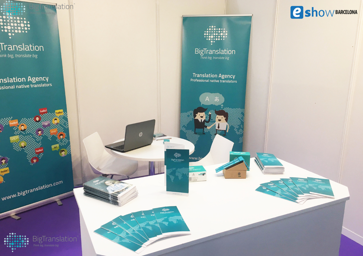 BigTranslation at the Barcelona eShow