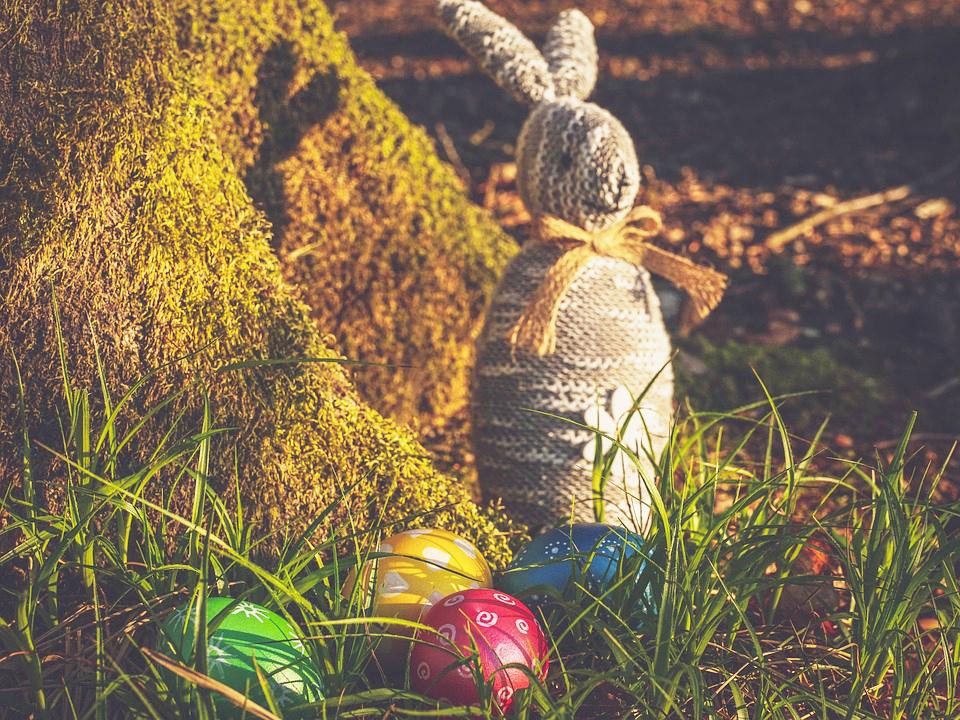 A origem dos ovos da Páscoa
