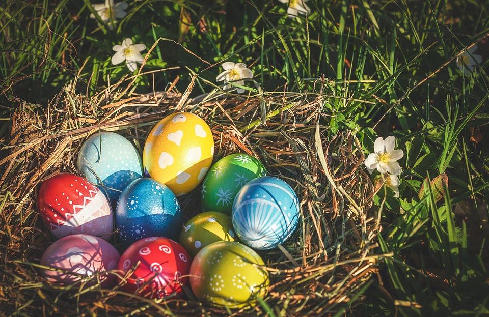 Originea ouălor de Paște