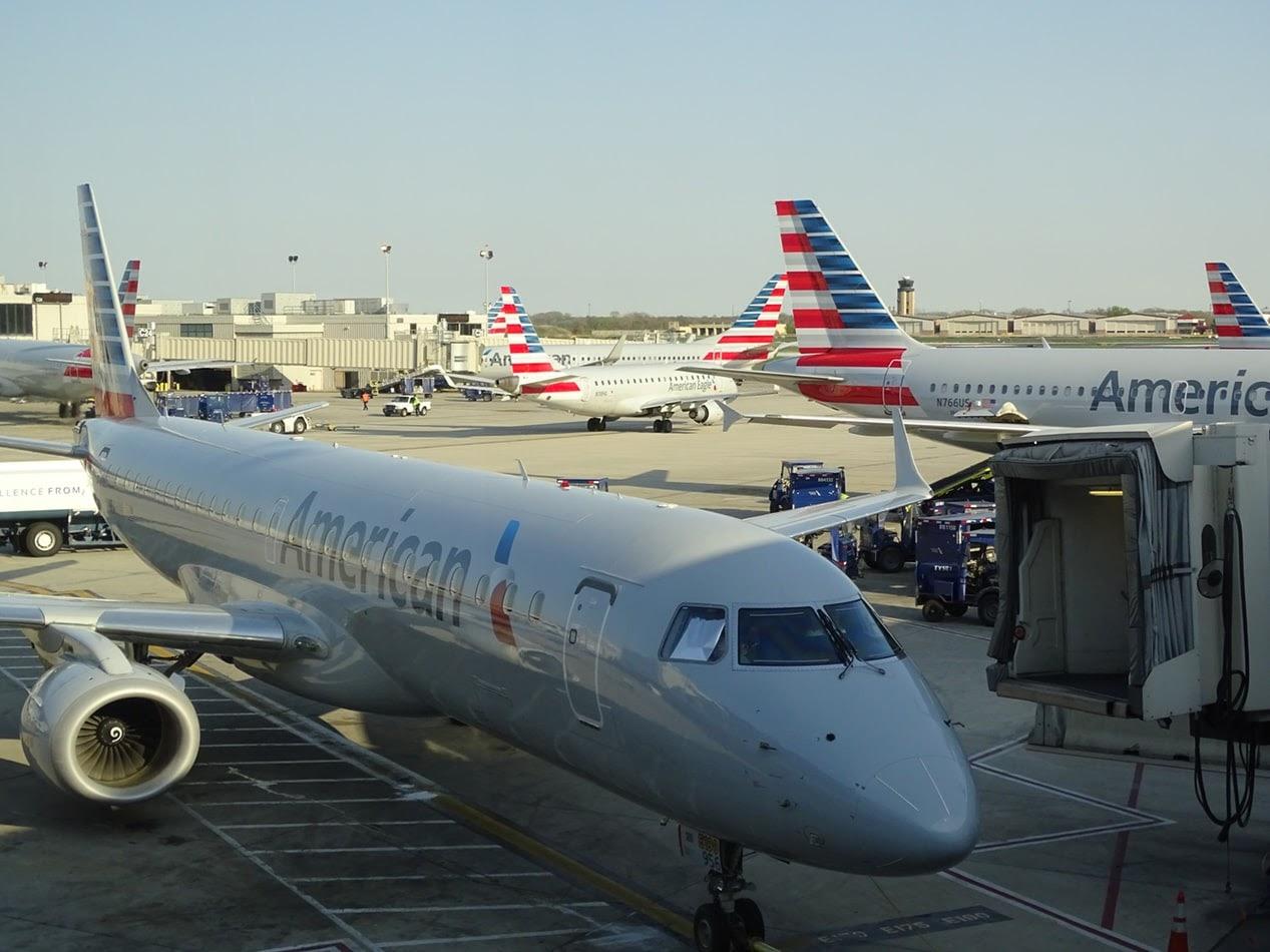 Error traducción American Airlines