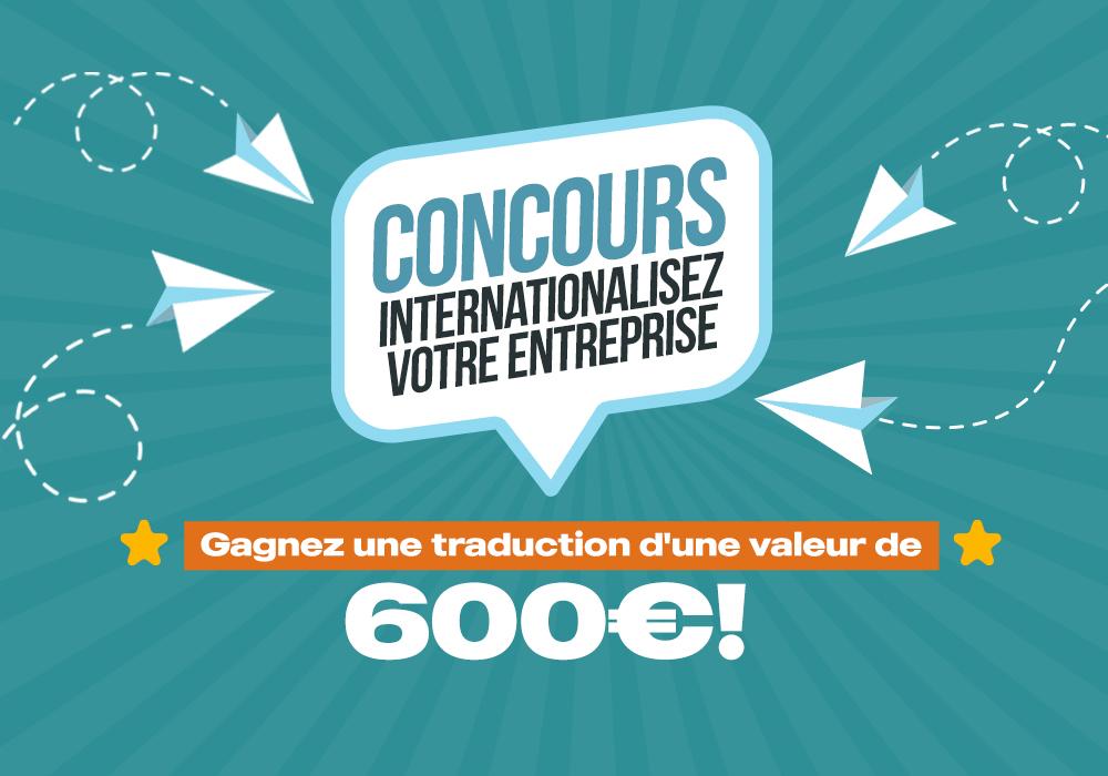 Concours : Internationalisez votre entreprise!