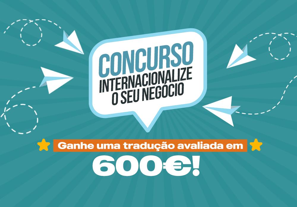 Concurso: Internacionalize o seu negócio!